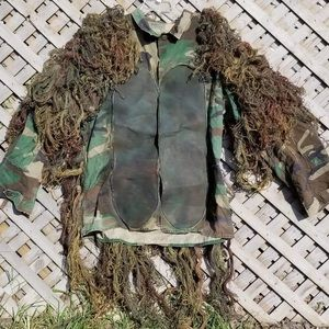 Other - Vintage Military Issue Ghillie Suit